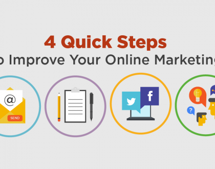 4 Quick Steps To Improve Your Online Marketing