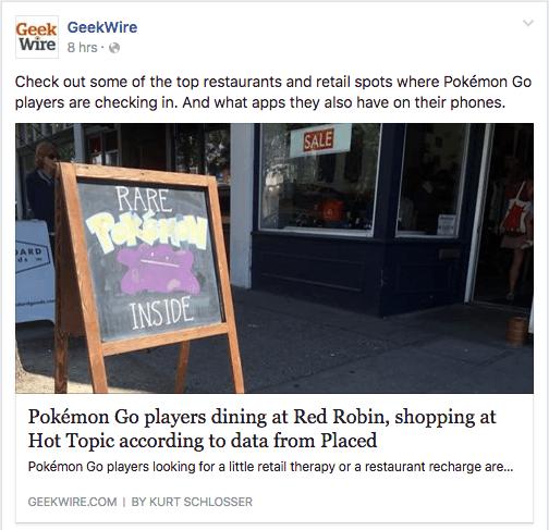 pokemon go social engagement