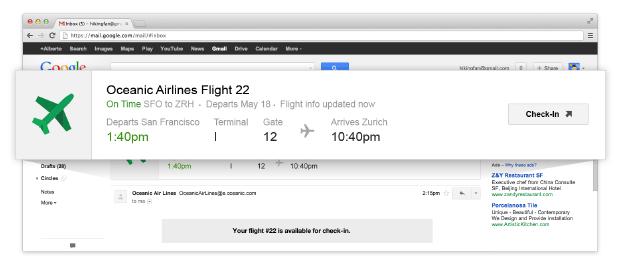 Google flight check