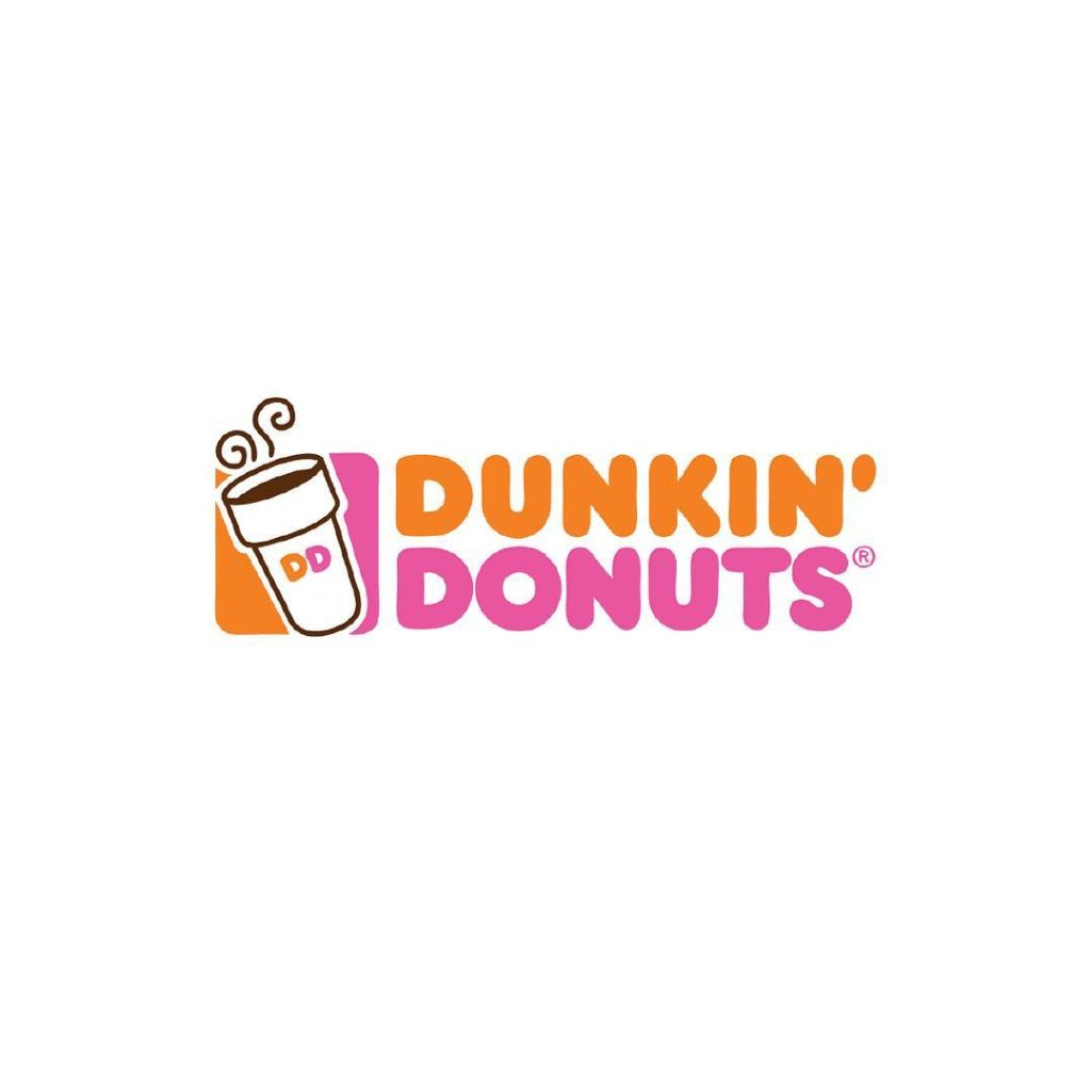 Fonts of Famous Logos - Dunkin' Donuts