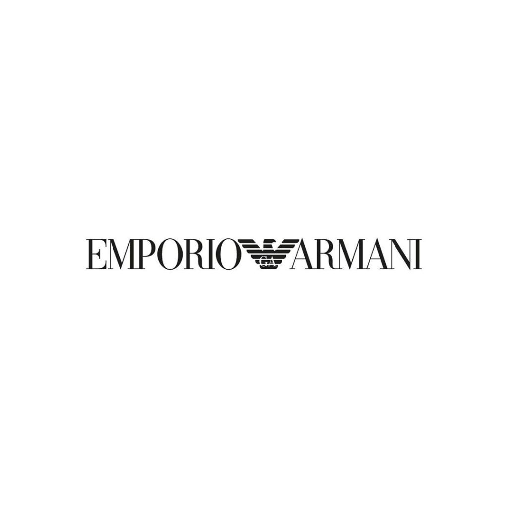 Fonts of Famous Logos - Emporio Armani